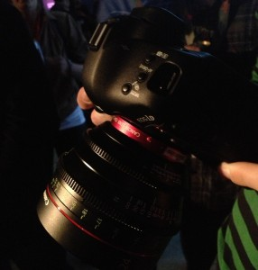 This is what a $6,000 lens looks like