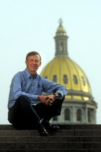 Gov. John Hickenlooper - from official Facebook page