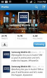 Quite the activation from Samsung