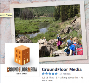 GroundFloor Media Facebook Page