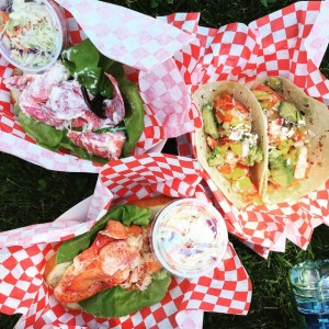 Some favorite meals at Denver's Civic Center Eats this summer!