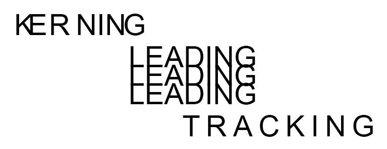 kerning-leading-tracking