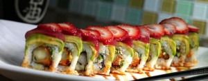 Marry Me sushi roll - photo by Piranha Sushi