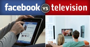 Facebook vs. TV