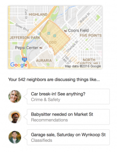 Nextdoor.com benefits businesses.