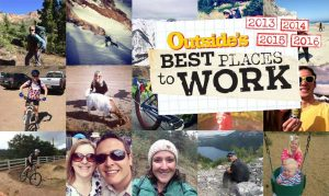 GroundFloor Media made Outside Magazine's Best Place to Work list for the fifth straight time in 2016.