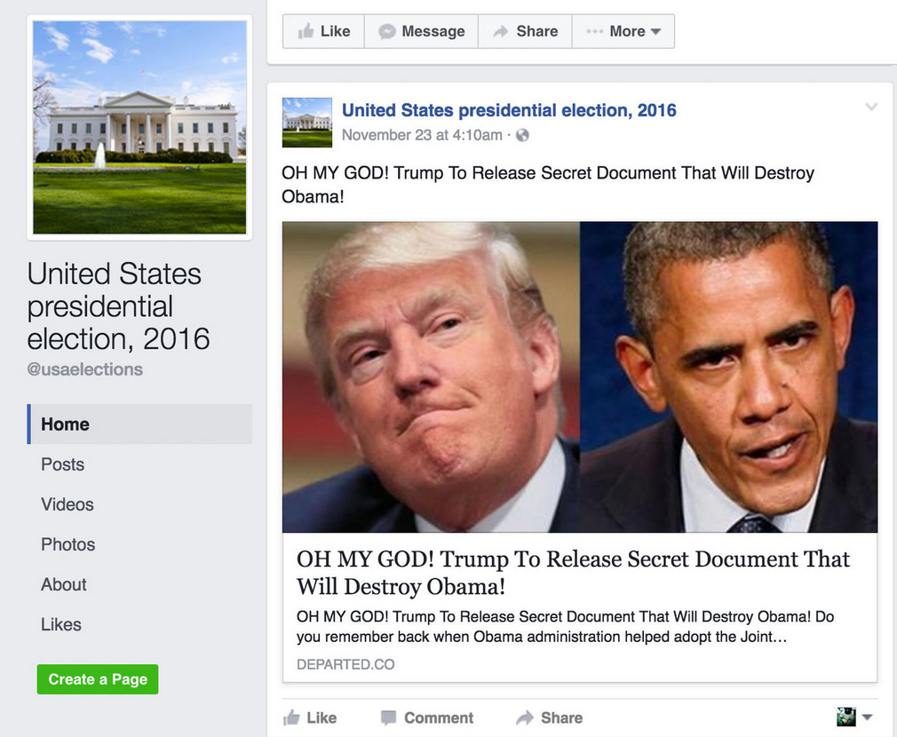The problem with fake news on Facebook - and how to spot
