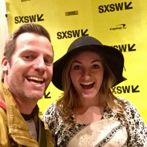 Jim with National Geographic explorer Erika Bergman