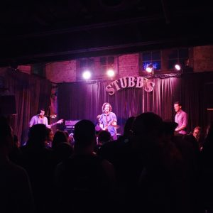 Live music at Stubb's, and Austin stronghold.