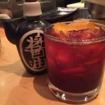 Piranha sushi's take on the Old Fashioned.