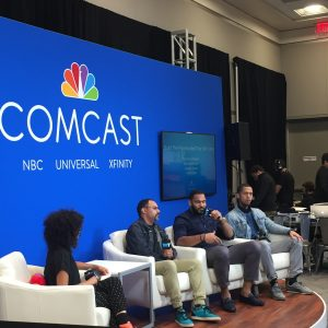 The Tennessee Titans were part of this Comcast-hosted panel.