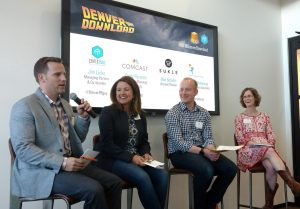 Panelists trade stories and insights at the 2017 GFM Denver Download.