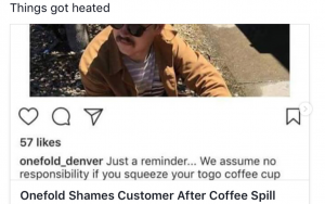 Onefold Denver restaurant owner Mark Nery is a regular critic of his online critics (Photo: Instagram)