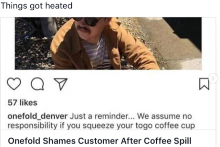 Onefold Denver restaurant owner Mark Nery is a regular critic of his online critics (Photo: Instagram)