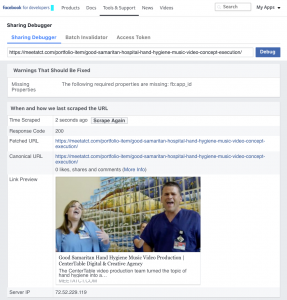 How To Update Your Facebook Link Preview | CenterTable Digital Agency