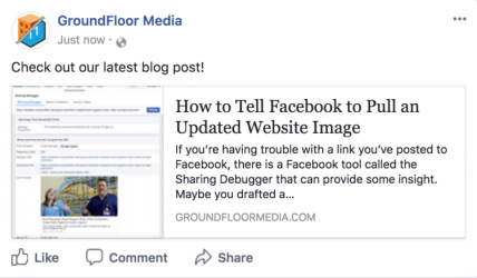 Troubleshooting Your Facebook Link Preview | CenterTable Digital Agency
