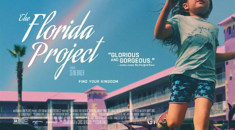Florida Project | Best Movie Poster Designs of 2017 | CenterTable Digital Agency