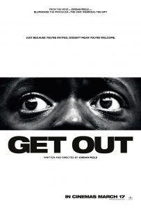 Get Out | Best Movie Poster Designs of 2017 | CenterTable Digital Agency