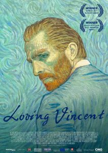 Loving Vincent | Best Movie Poster Designs of 2017 | CenterTable Digital Agency