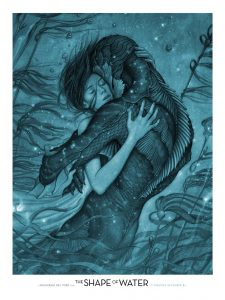 Shape of Water, James Jean | Best Movie Poster Designs of 2017 | CenterTable Digital Agency