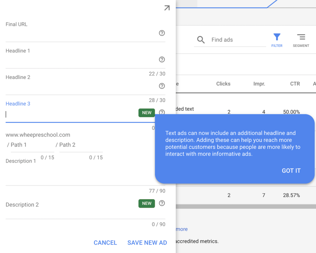 Google Adwords Expands ExpandedText Ads