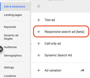Google Ads How To Create Responsive Search Ads