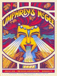 James Flames Concert Poster Design