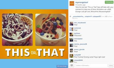 Social Media Campaign Increased Customer Engagement for Orange Leaf Frozen Yogurt