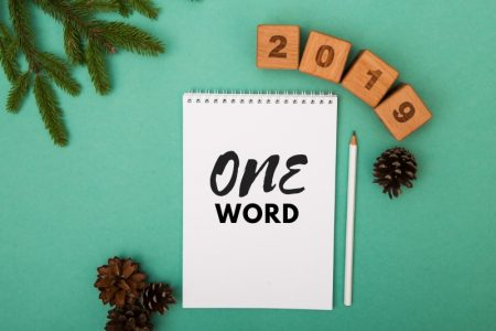 New Years resolutions - 2019 one word resolution
