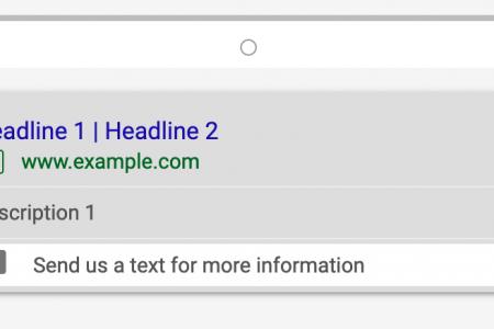 Google Ads Message Extensions | CenterTable Digital Agency Denver