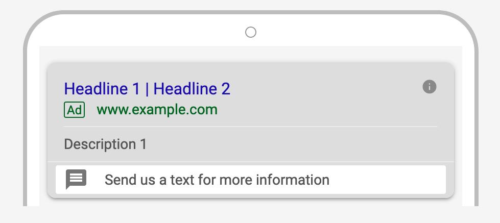Google Ads Message-Extensions | CenterTable Digital Agency Denver