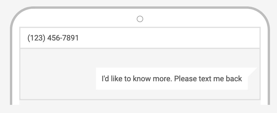 Google Ads Message-Extension Default Customer Message | CenterTable Digital Agency Denver
